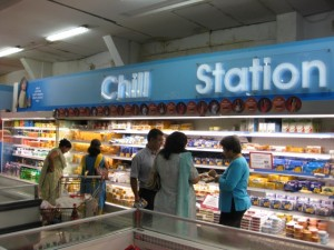The Middle Class Convenience of a New Air Conditioned Supermarket
